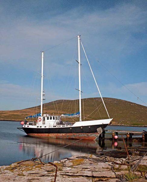 Jérôme Poncet, Beaver Island, course au large, Whitbread, Malouines