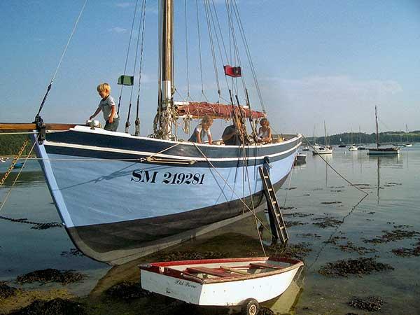 Rose-Anne, Vieux gréement, cotre, voile, Bretagne