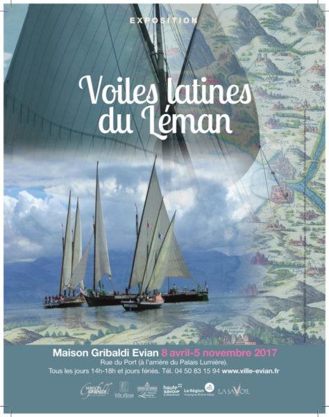 """Exposition """"Voiles latines du Léman"""""""
