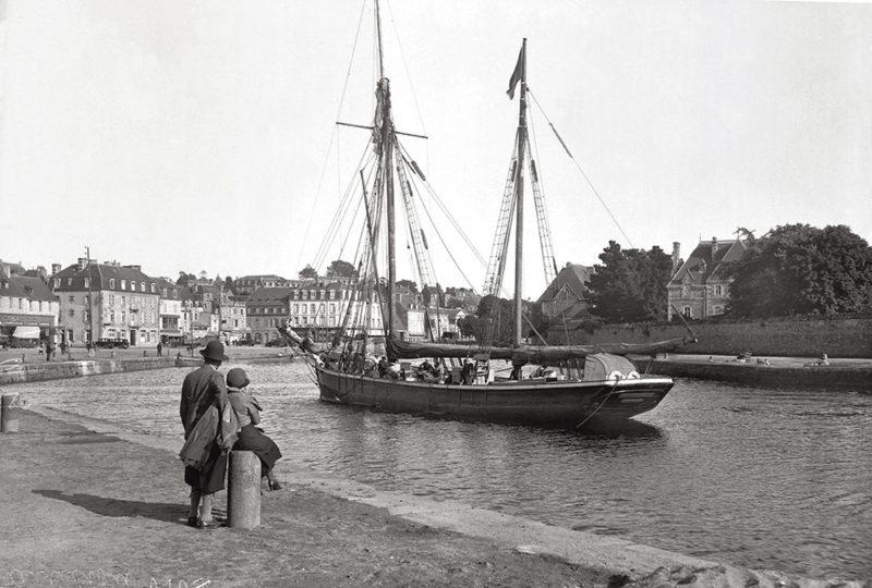 Histoire Lannion,cabotage, port Lannion, goélette, commerce