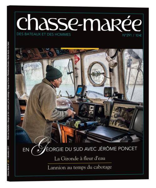 Revue Chasse-Marée, revue maritime, magazine mer, Jérôme Poncet