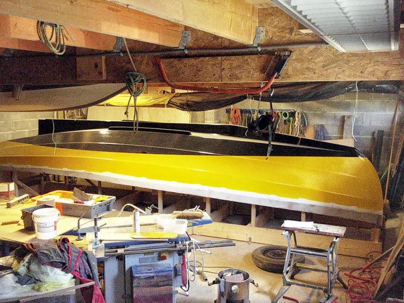 Construction Chebacco, construction contre-plaqué, construction amateur, voile-aviron