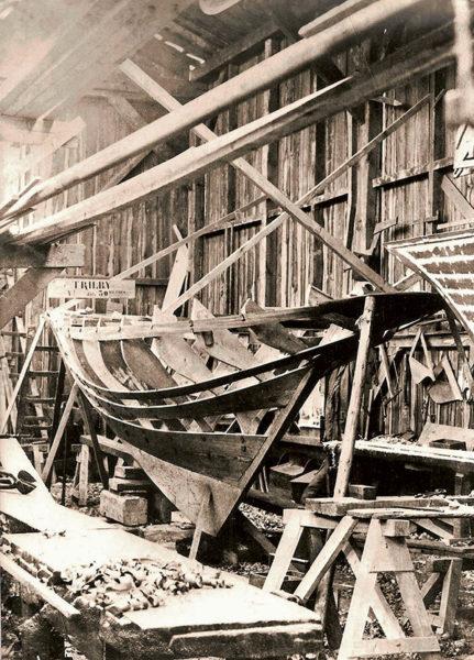 Maquette bateau, modélisme, Trilby, sabot