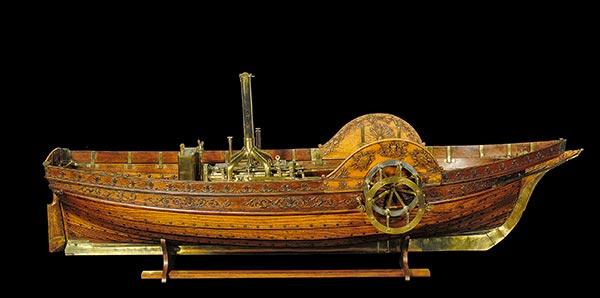Jouffroy d'Abbans, Jouffroy d'Abbans bateau vapeur, histoire bateau vapeur