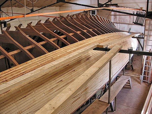 La louise bateau, construction naval, bateau bois