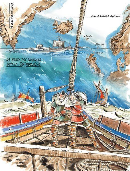 compas solaire, compas solaire vikings, navigation viking, article viking
