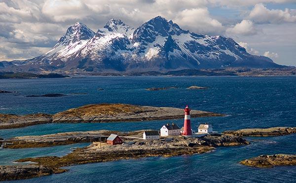 phares, histoire phares,, phares Norvège, histoire phares Norvège