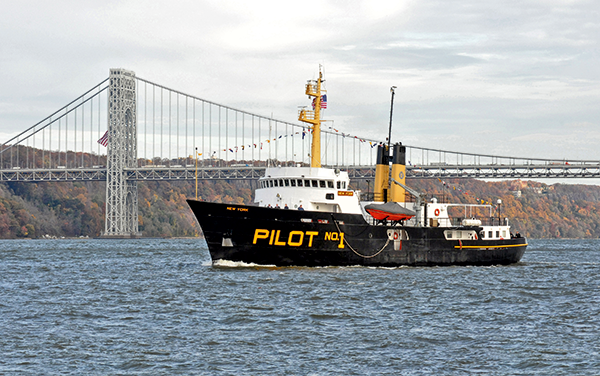 pilotes Sandy hook, port New York, histoire port New York, pilotes port New York