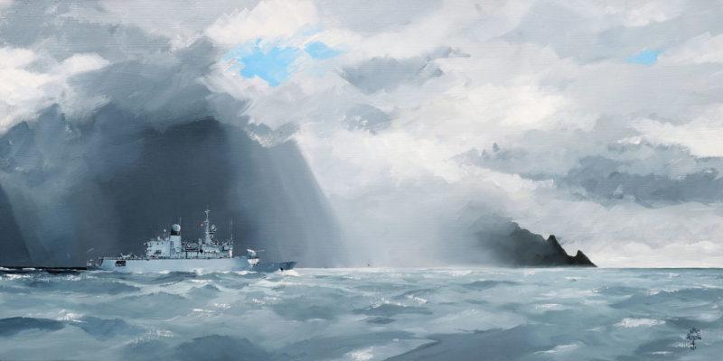 Peintres de la Marine, Nivôse, Jean-Pierre Arcile, marines, peintre bateaux