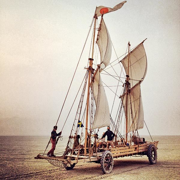 clippers désert, bateaux désert, voiles sable, voiles sur sable