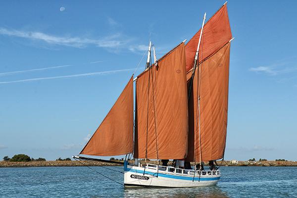 Chaloupe, Jeanne J chaloupe, bateau traditionnel