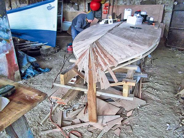 Minibac aquitain, bateau traditionnel aquitain, bateaux traditionnels, bateaux à voiles aquitain