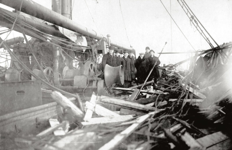 Explosion Halifax, Guerre 14-18, Port en guerre, Halifax 1917, Halifax blast