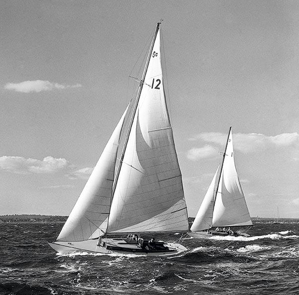 Sound Interclub Long Island, John Kelly Sound Interclub, bateaux traditionnels USA