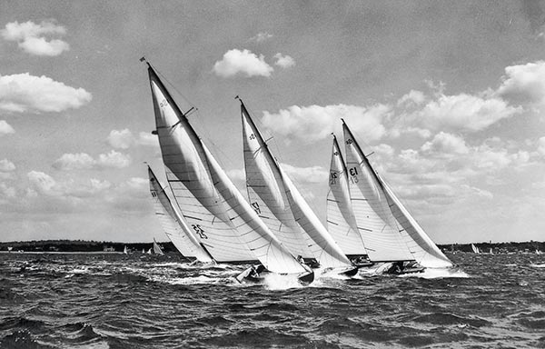 Sound Interclub Long Island, John Kelly Sound Interclub, bateaux traditionnels USA