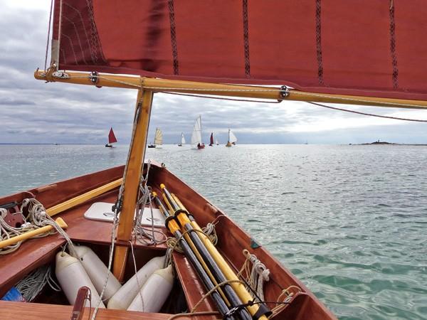 Voile aviron, navigation Finistère