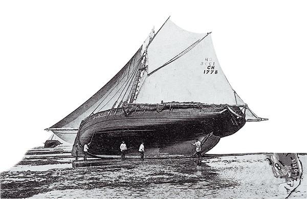 bateau en carénage