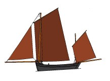 dessin bateau de Berck