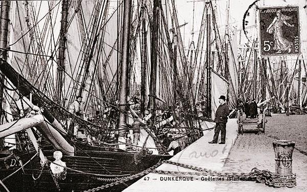 Les quais de Dunkerque début 20ème siècle