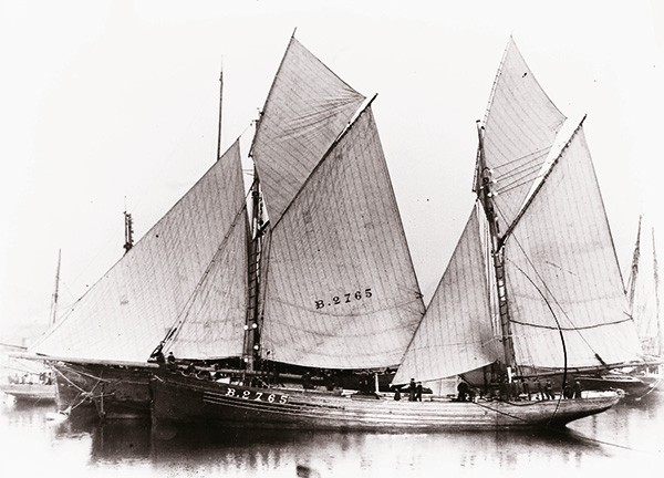 Photo harenguier à Boulogne