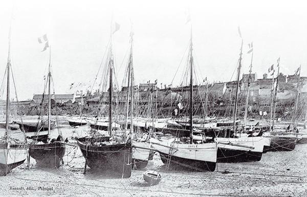Langoustiers port Loguivy