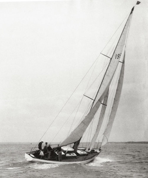 Transat Vertue XXXV, Architecte naval, Wanderer III, Vertue XXXV