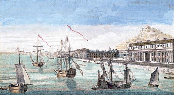 Vaisseau compagnie des Indes orientales, Indiaman, Port-Louis, Compagnie française des Indes
