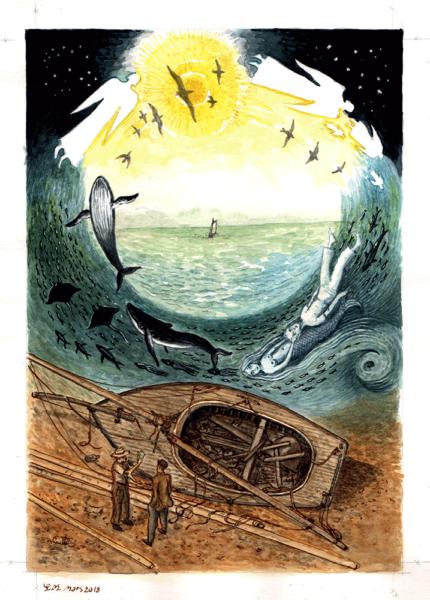 Illustration de Maurice Pommier