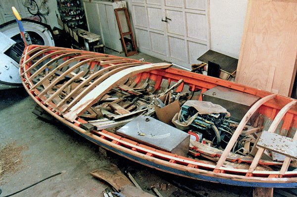 Armengol sculpteur, Bateau Sa Rata, Navigation Méditerranée