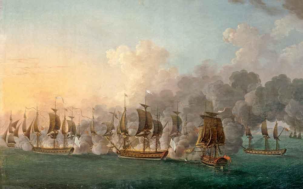 Bataille de Lapérouse en baie d'Hudson