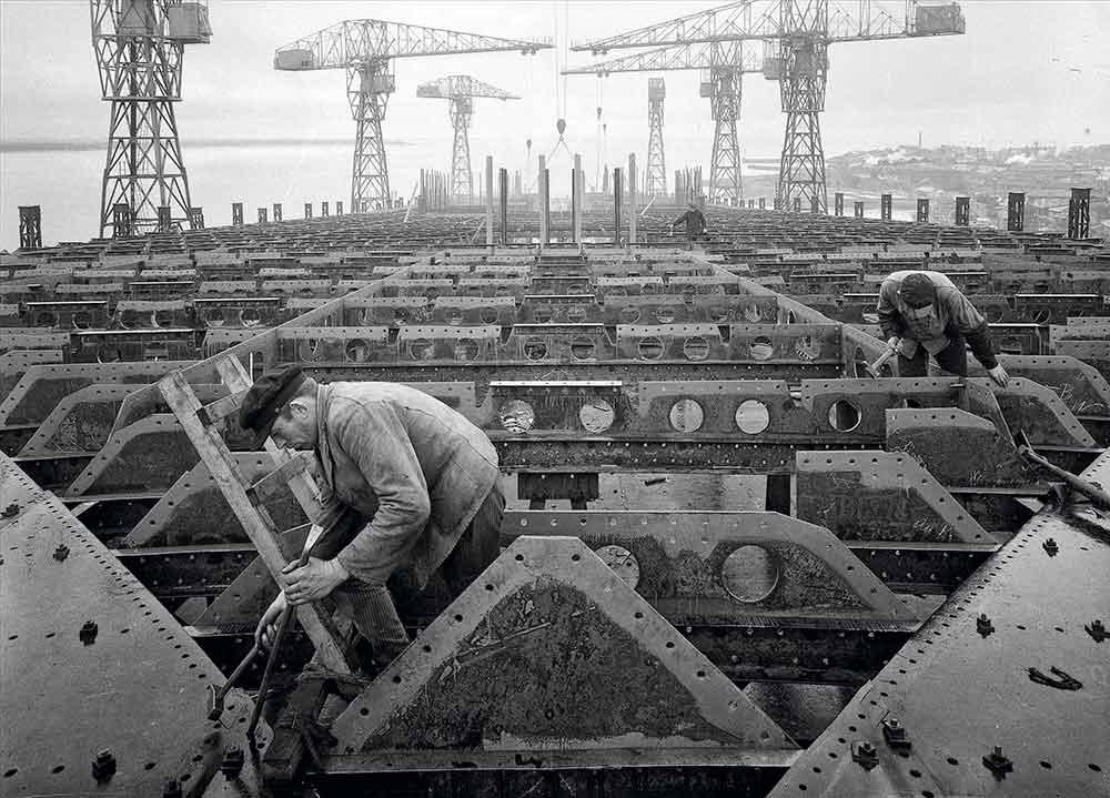 Travailleur chantiers Saint-Nazaire 1930
