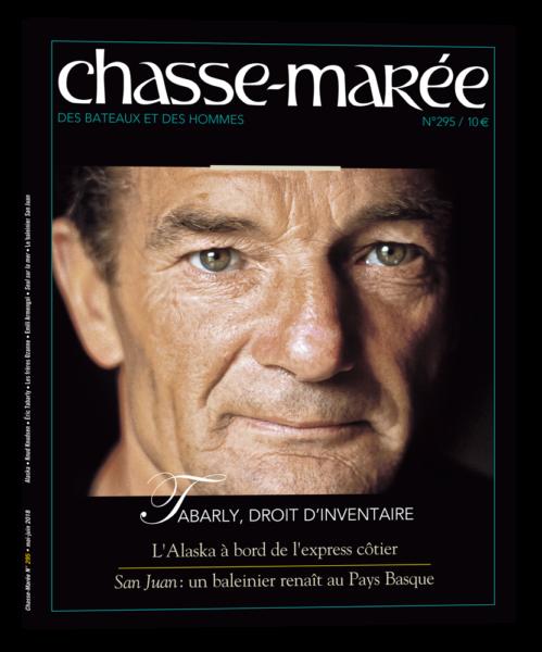 couverture revue Chasse-Marée 295, Eric Tabarly portrait