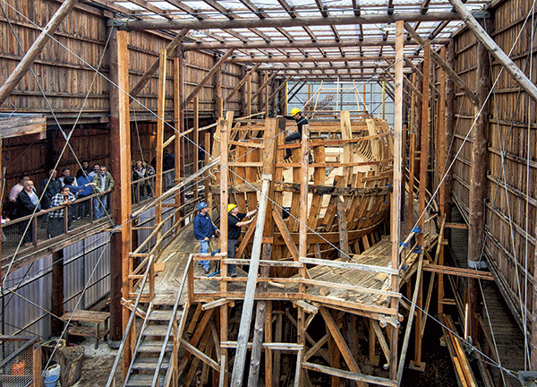 Pays basque, Pasaia, Construction San Juan, Albaola