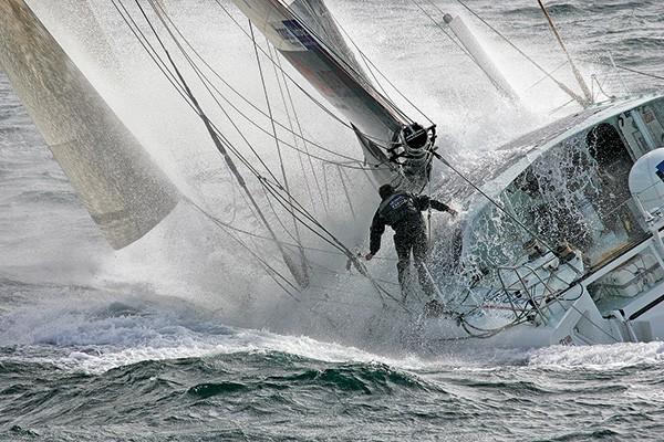 Photo Jean Pierre Dick en mer, 2006