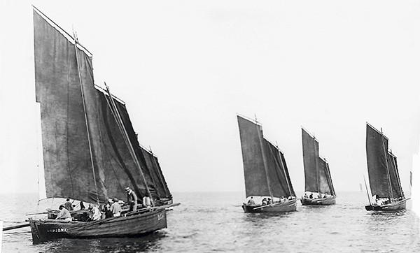Flotilles de chaloupes port louisiennes 1887