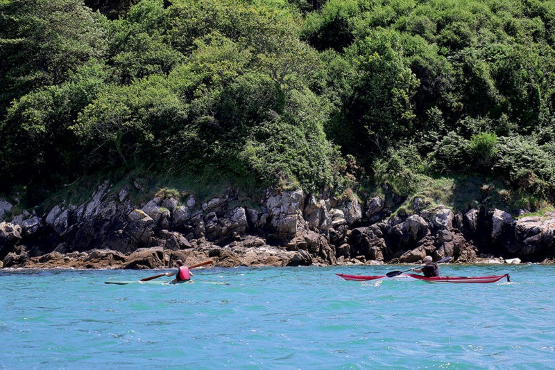 kayak, pagaie, Chasse-Marée la revue