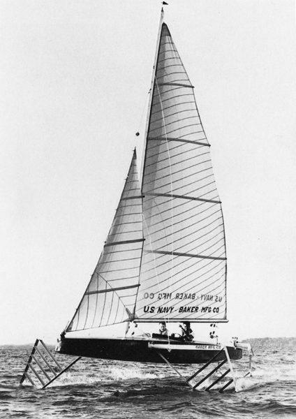 foil, hydroptère, moth, bateau volant