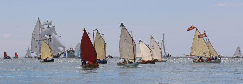 Flottille de bateaux du patrimoine