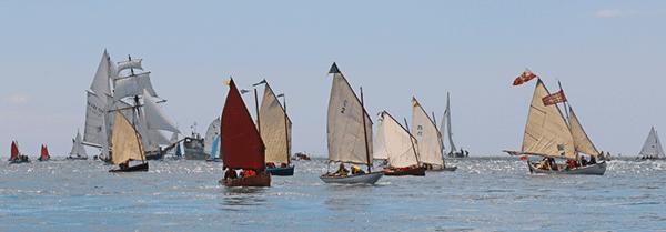 Flottile de bateaux du patrimoine