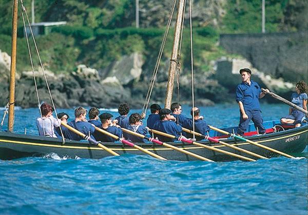 Traînière de pêche, pays basque, Albaola