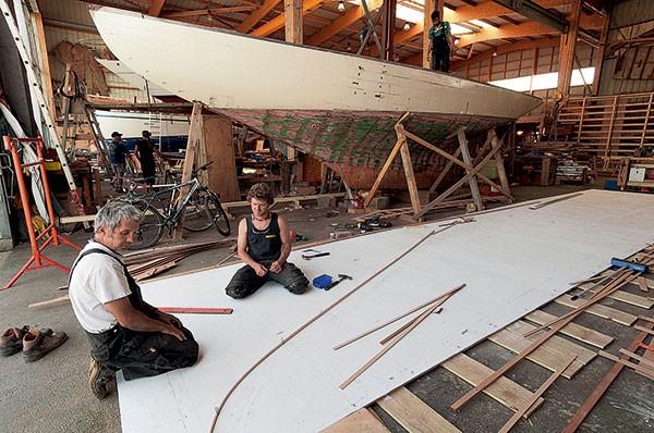 Restauration Runa IV et Runa VI par le chantier du Guip, Brest