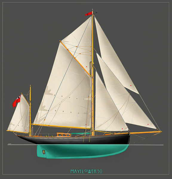 Plan Mayflower 50