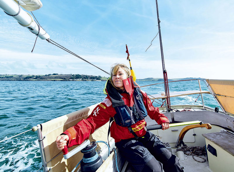 Golden Globe Race, Susie Goodall