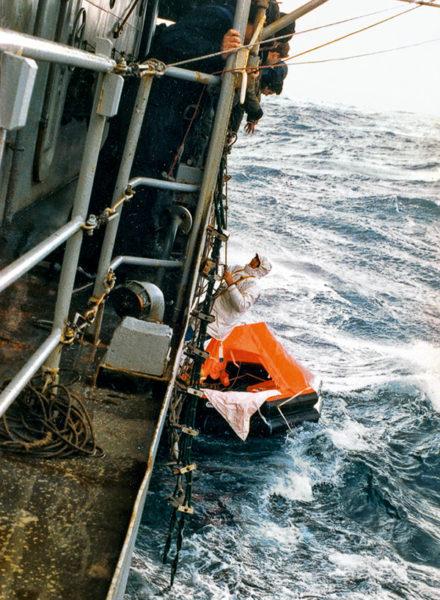 Sauvetage de Guy Bernardin au large du cap Horn