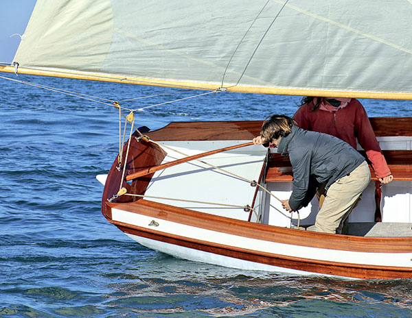Ile de Ré, Ars-en-Ré, Naviguer Ile de Ré, plan Herreshoff