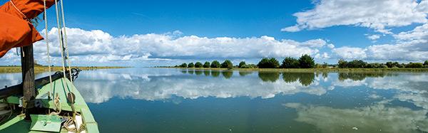 Vue panoramique baie des Veys