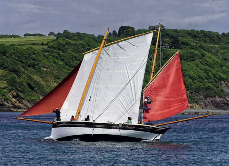 bateau île de Man, hobby Gladys, Manx hobby, Gladys isle of Man