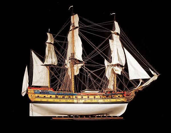 maquette de bateau