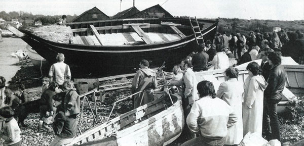 TelennMor, An Eostig, chaloupes sardinières, Douarnenez