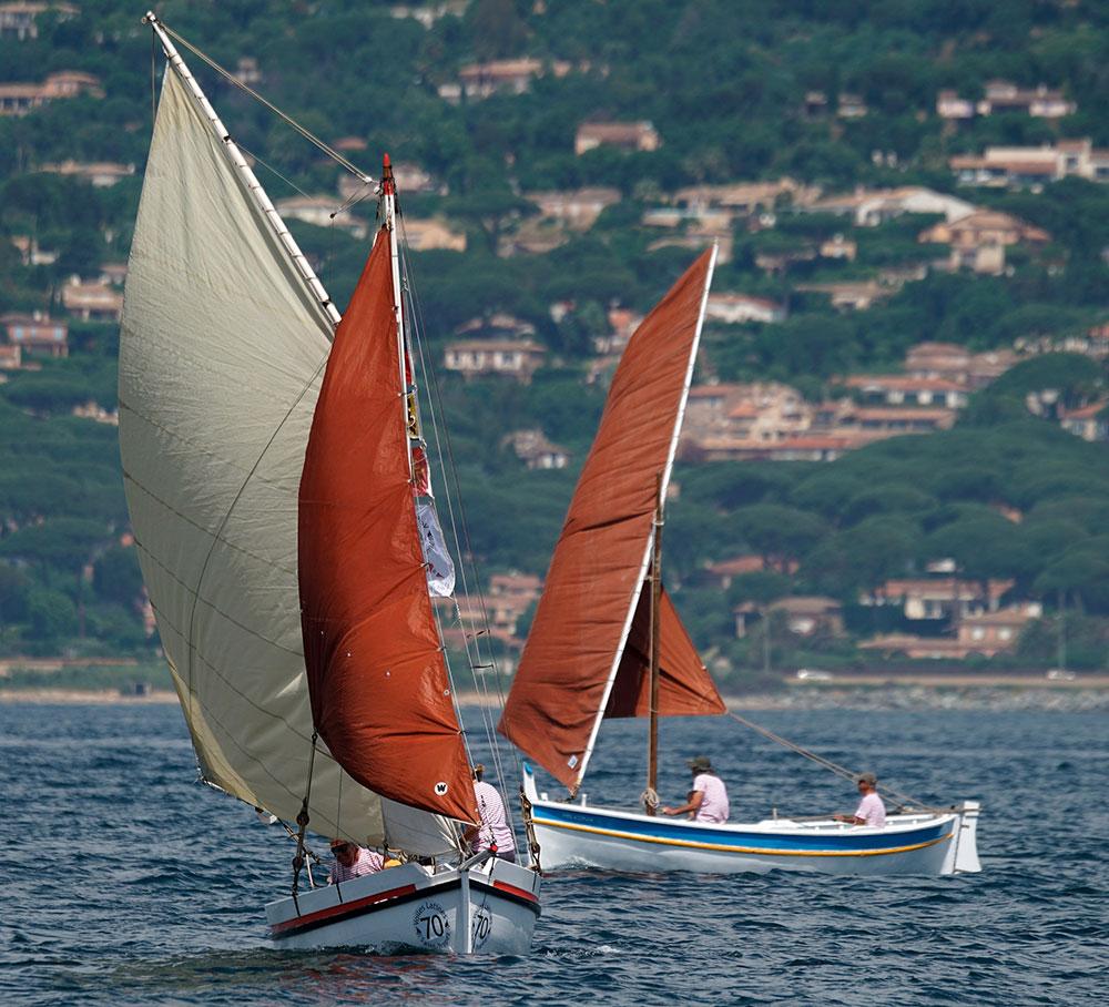 Voiles Latines, Saint-Tropez, pointus